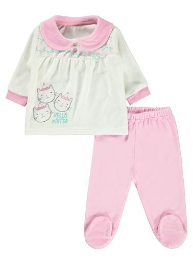 Kujju Kız Bebek Takım Pembe